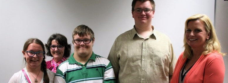 Shannon, Zach, and Ryan (along with their trainers Marilyn and Kelly) completed the OE Pre-Employment Transition Program