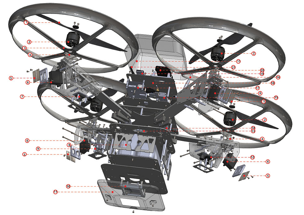 drone solidworks model