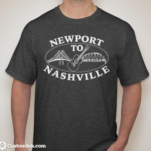Newport to Nashville T-shirt