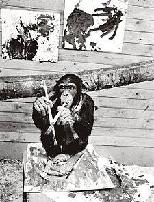 Pierre Brassau, Monkey Artist