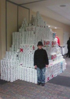 What to do with all that extra toilet paper