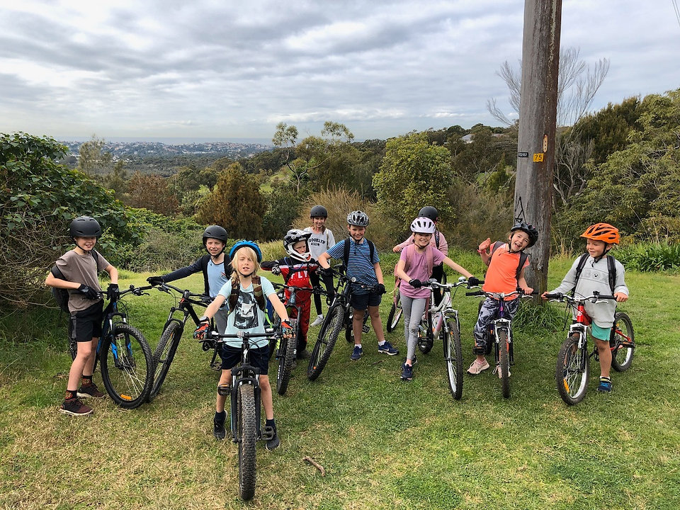 Kids mountain bike party
