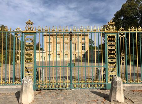 Le boudoir de Marie Antoinette  taille réelle