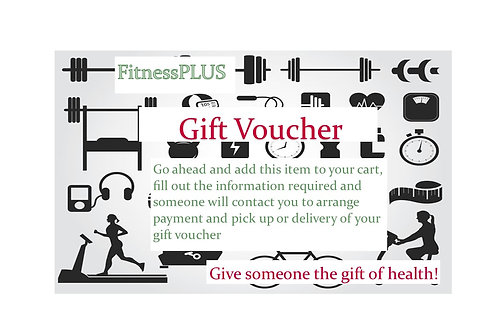 FitnessPLUS Gift Voucher