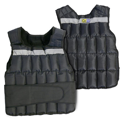 Unisex 20lb Adjustable Weighted Vest