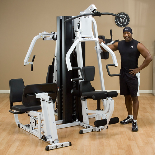 BODY SOLID SELECTORIZED MULTI-STATION HOME GYM!!