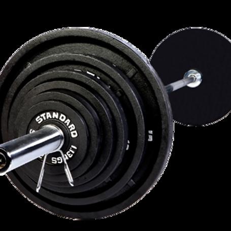 USA Olympic 300lb. Weight Set