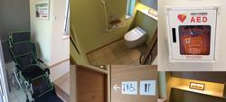 車椅子・ユニバーサルデザイン・AED