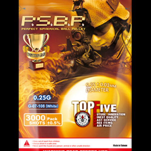 G&G PERFECT BB 0.25G (WHITE) 4000R