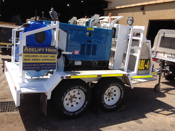 Our heavy duty trailers can be pulled by most vehicles!