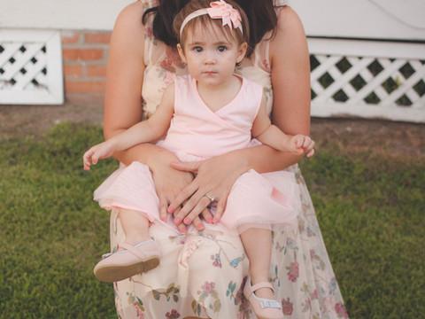 Mariana and Miranda's Mommy & Me mini-session