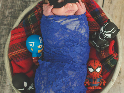Liam's Newborn Portraits