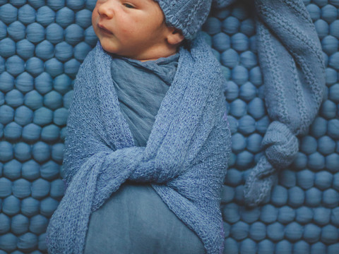 Isaac's Newborn Portraits