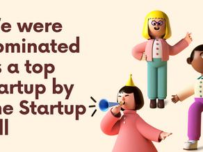 The Startup Pillでトップスタートアップにノミネートされました!