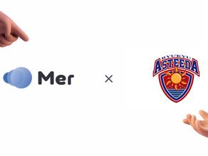 今注目のCRM/SFA「Pipedrive」の日本マスターパートナー株式会社Merが、卓球Tリーグ「琉球アスティーダ」とスポンサー契約を締結