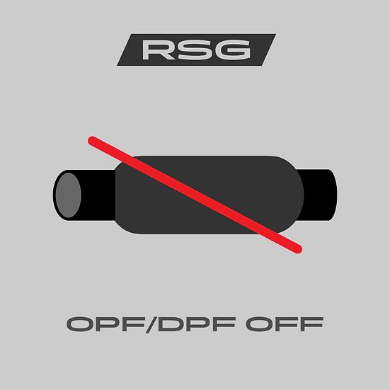 OPF/DPF-Off - Polton pois ohjelmointi