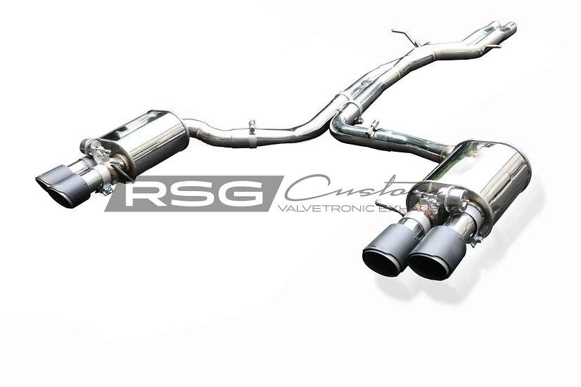 Audi SQ5 8R 3.0T RSG Valvetronic  Cat-Back Pakoputkisto