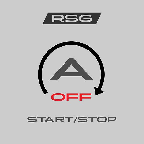 Start/Stop-Off - Udelleenkäynnistyksen pois ohjelmointi