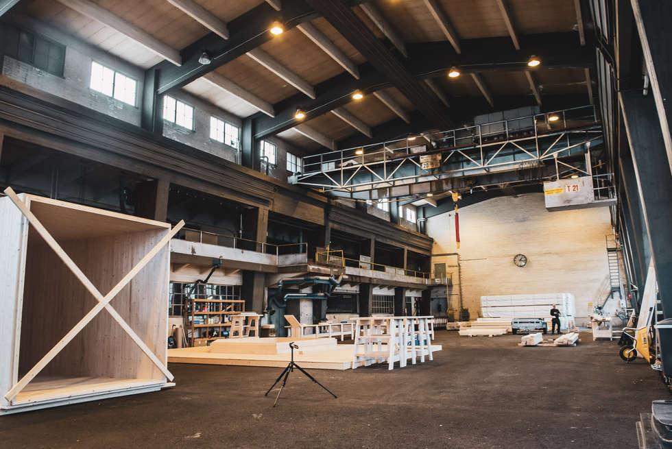 Teijo Log öppnar produktionslinjen i Dalsbruk, Finland