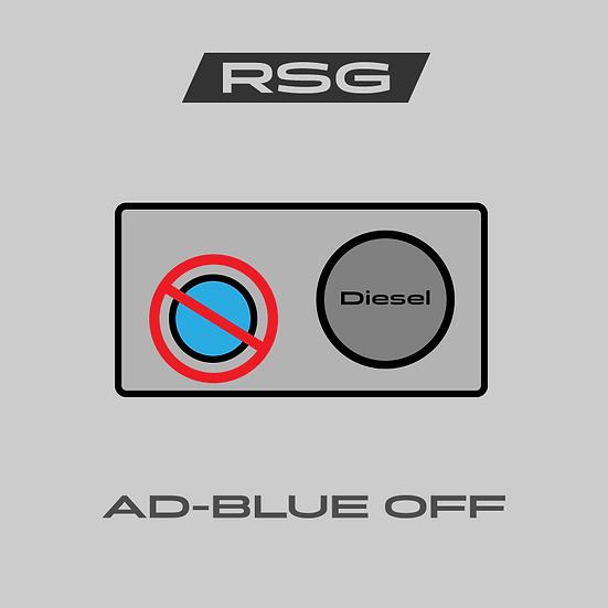 AdBlue-Off - Urea järjestelmän pois ohjelmointi