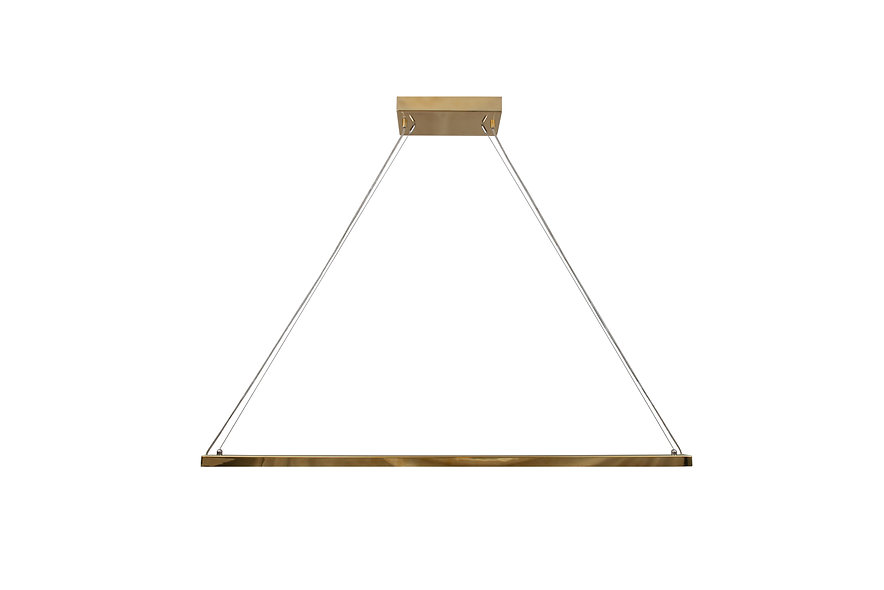 VAISTO Pendant Brass Medium
