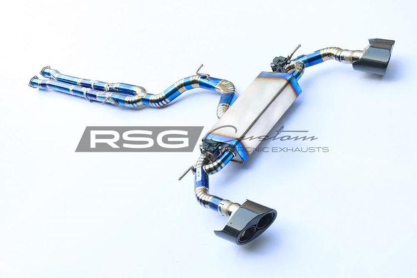 Audi RS5 8W6 2.9T RSG Valvetronic  Cat-Back Pakoputkisto