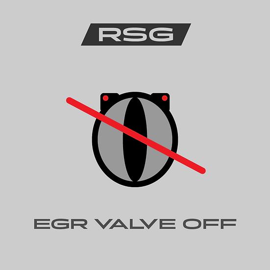 EGR-Off - Venttiilin pois ohjelmointi