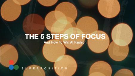5 Steps of Focus