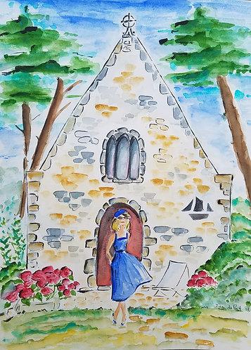 La chapelle st Goustan