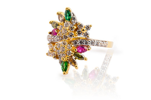 'Madhavi', Gold Ring