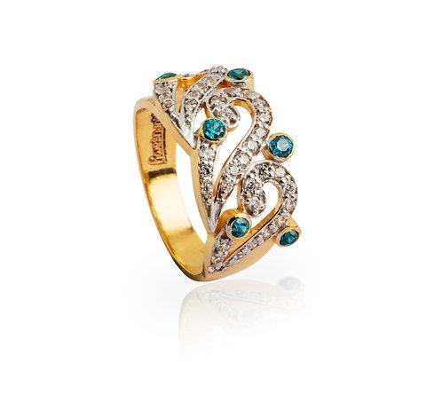'Bhaga', Gold Ring