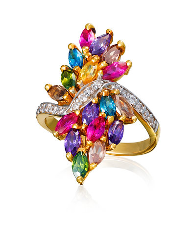 'Swarga', Gold Ring