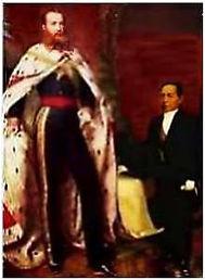 Dos de los casi 50 jefes de estado de México entre 1821 y 1900