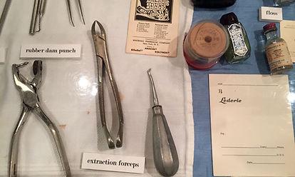 Dental instruments. Retipping & Sharpening dental instruments