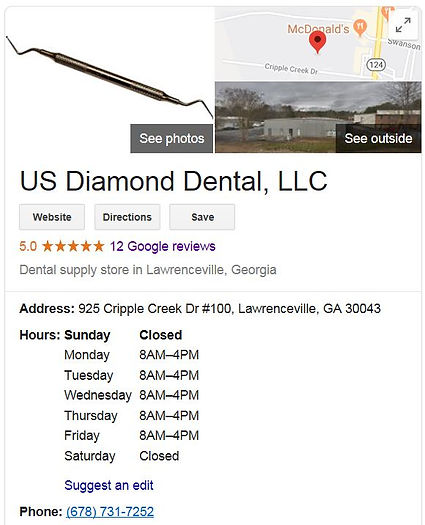 Google Bussiness page