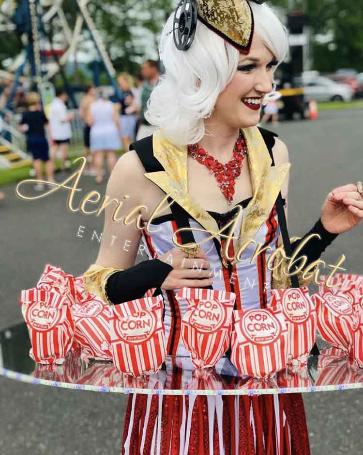 AAE Popcorn Showgirl LED skirt copy