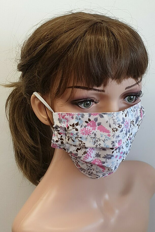 RE-USABLE COTTON MASK