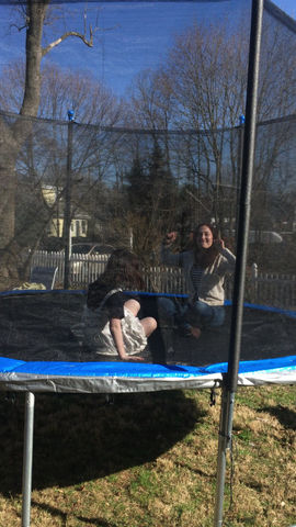 Trampolining with Niece!