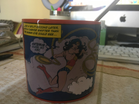 Treat Today: First time I used by Wonder Woman Mug
