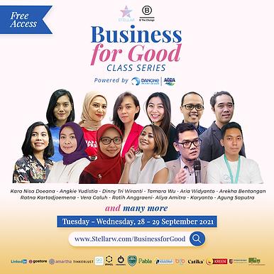 Stellar Business for Good Class Series