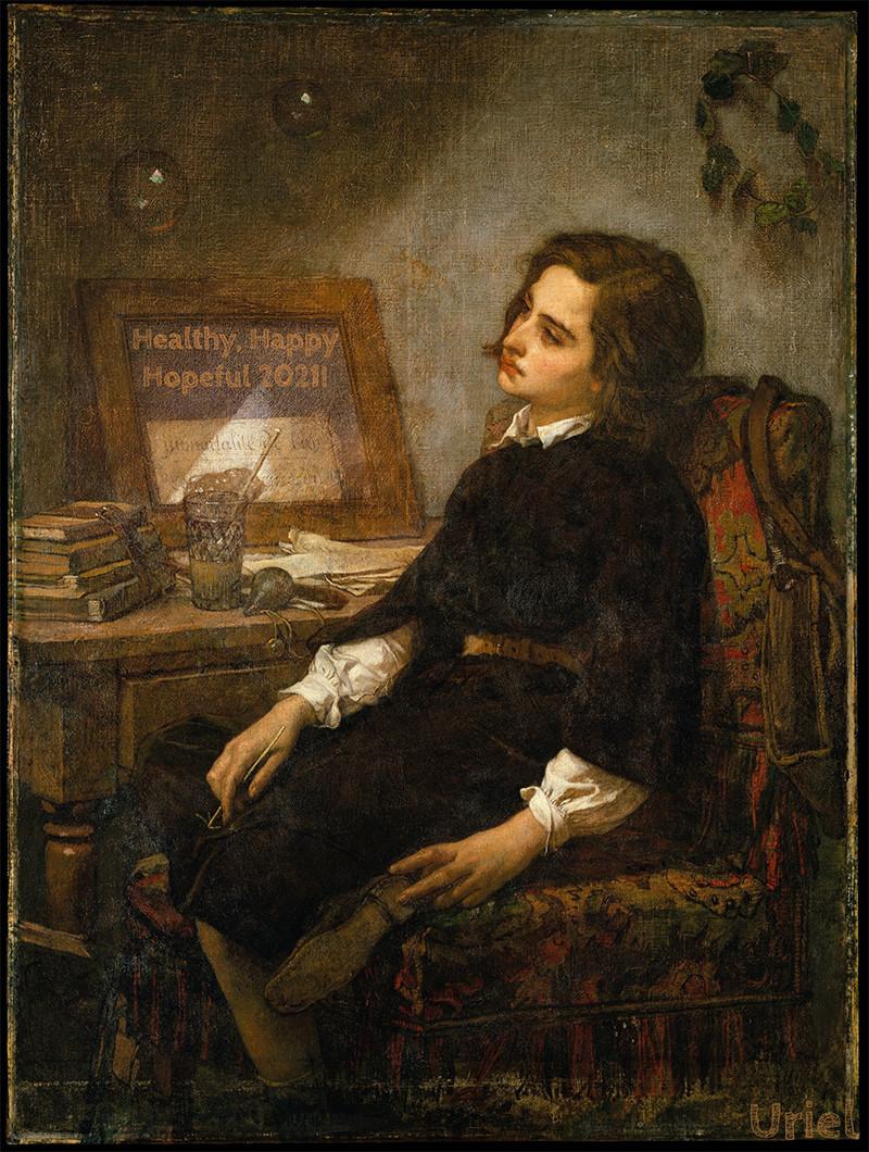 Thomas Couture, Soap Bubbles ca. 1859