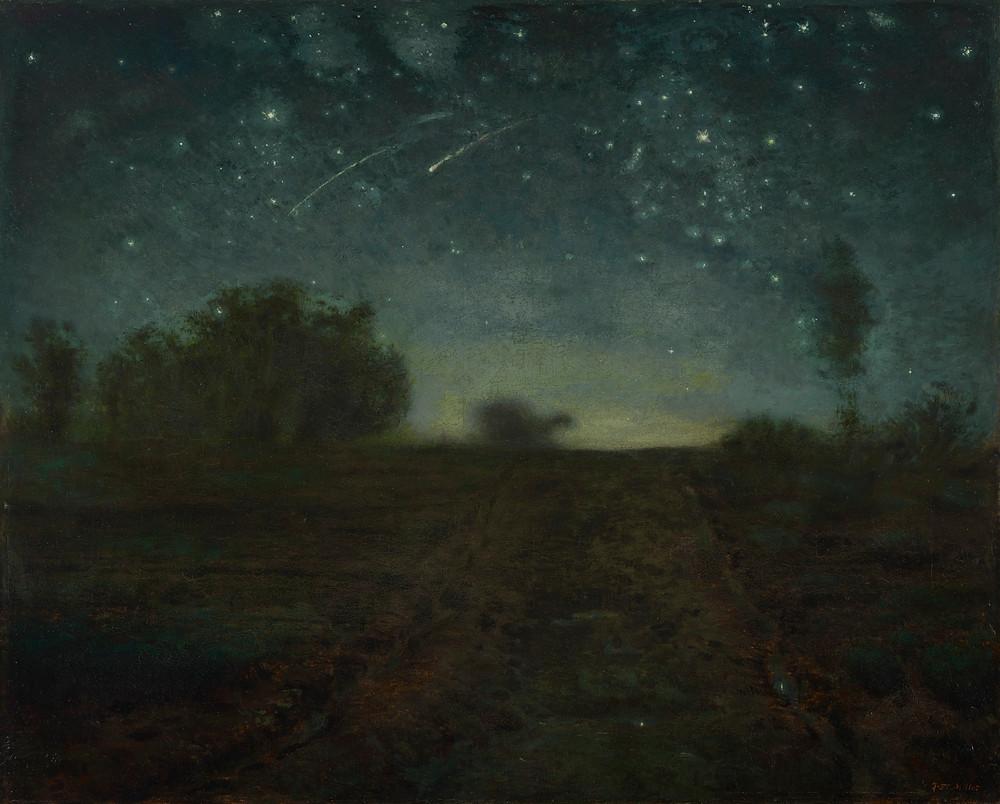 Jean-François Millet, Starry Night, 1850–65