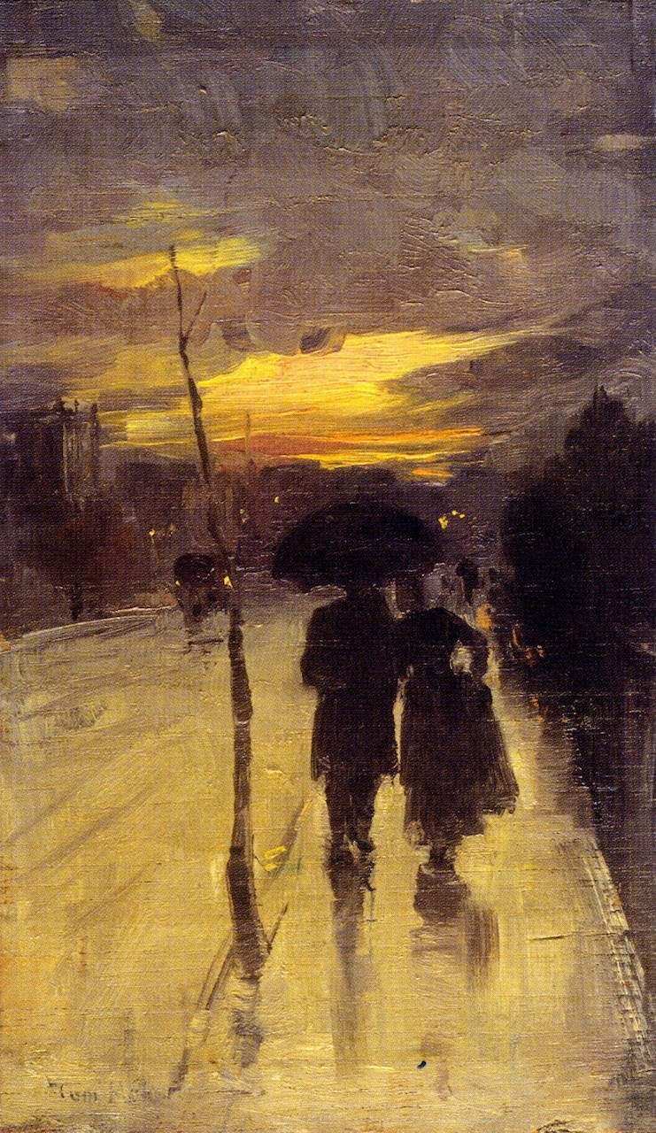 Tom Roberts, Going Home, 1889