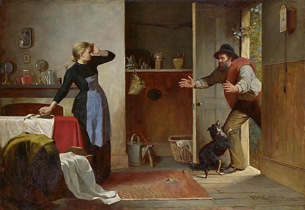 Frederick McCubbin, Home Again, 1884