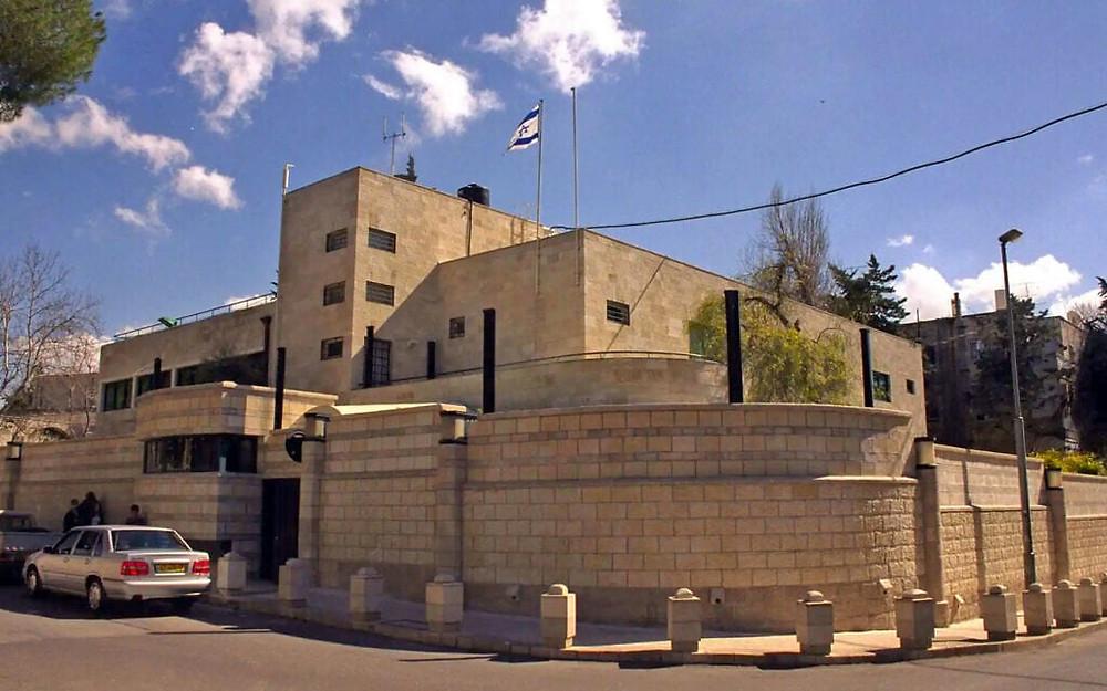 Residence of the Israeli PM, Balfour Street, Jerusalem