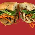 S2. Grilled Chicken Banhmi Sandwich