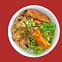 B20. Grilled Chicken & Egg Roll Vermicelli