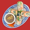 A2. Shrimp & Pork Summer Rolls, 2 rolls