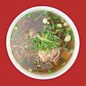 P3. Rare Beef Pho Noodle Soup
