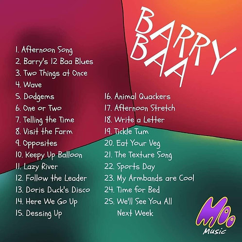 Barry Baa Digital Album